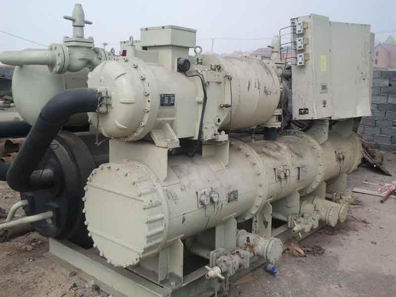 北京回收中央空调,溴化锂机组回收